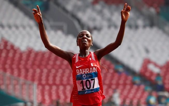 Bahrain đoạt HCV marathon nữ