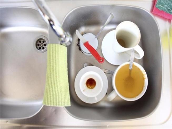 Những sai lầm ai cũng mắc phải khi rửa chén