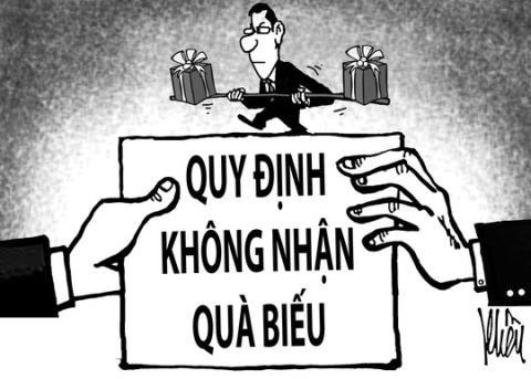 Hà Nội: yêu cầu cấp dưới báo cáo việc nhận quà Tết