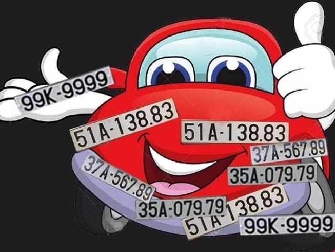 Bộ Công an: Sẽ đề xuất thí điểm đấu giá biển số xe