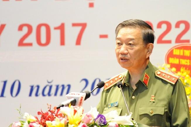 Bộ trưởng Tô Lâm chỉ đạo ngành công an phát huy hành động đẹp