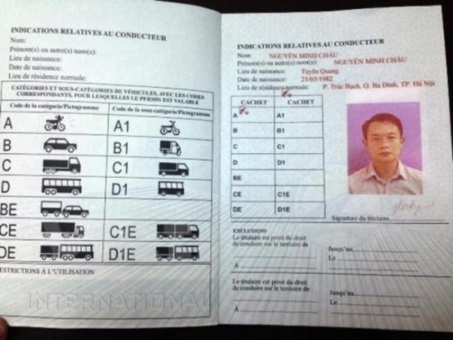 Đối tượng nào được cấp giấy phép lái xe quốc tế?