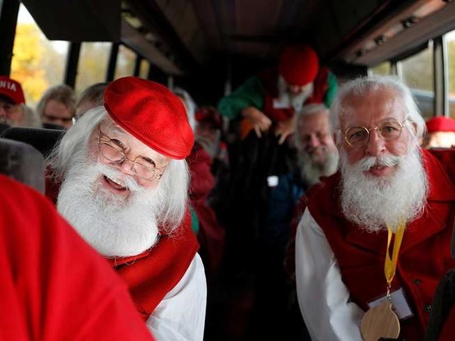 Nơi tuyệt nhất để học làm ông già Noel