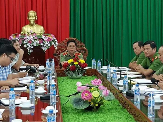 Công an tỉnh Long An thông tin vụ 'xin đi tù'