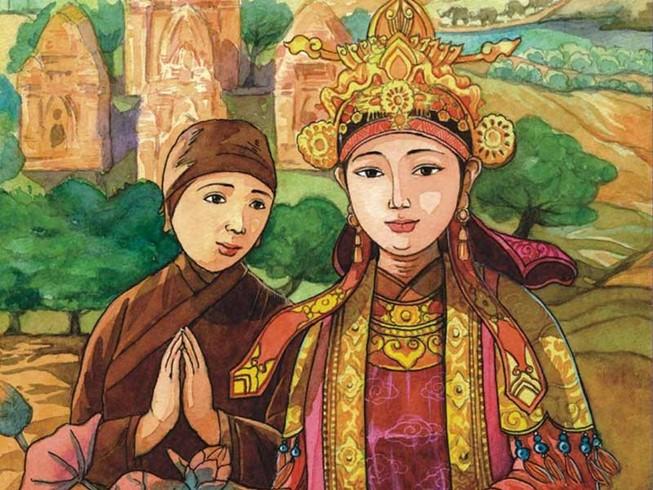 Huyền Trân công chúa làm vợ Chế Mân
