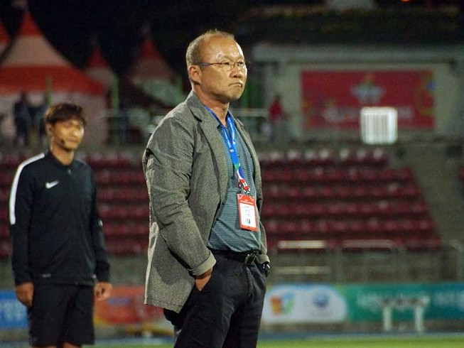 Thầy Park và khát vọng Olympic 2020