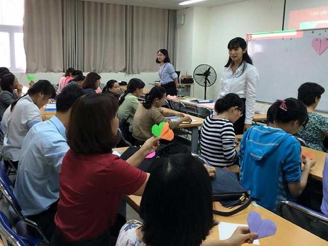 Lớp học tiếng Nhật đặc biệt ở Bệnh viện Chợ Rẫy