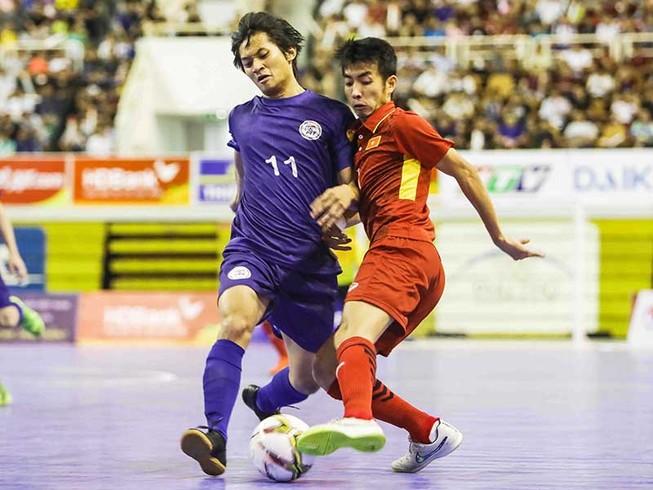 Bán kết VĐ Futsal Đông Nam Á: Đừng đùa với Malaysia