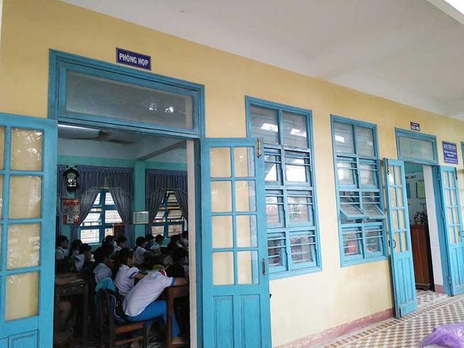 Quảng Nam: Học sinh tăng đột biến, trường lớp quá tải