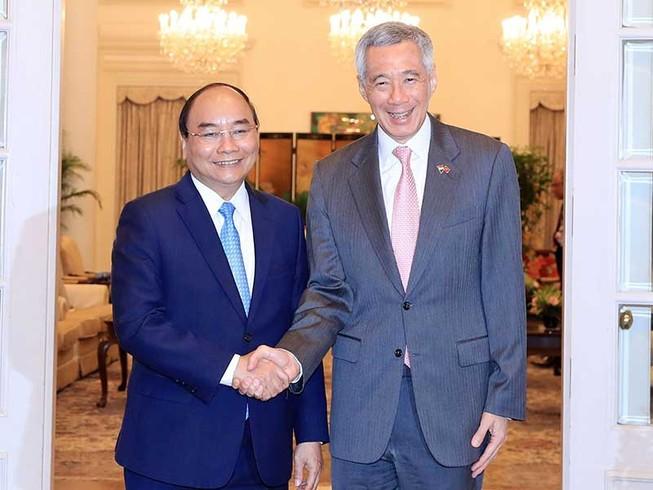 VN-Singapore nhất trí thúc đẩy hợp tác quốc phòng, an ninh