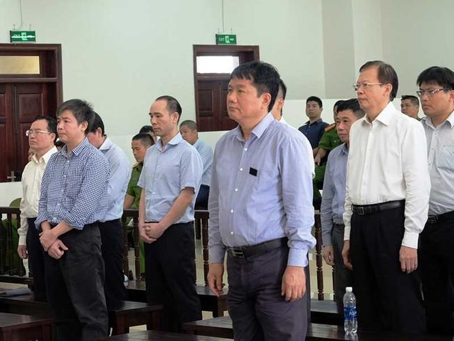 Y án ông Đinh La Thăng 13 năm tù