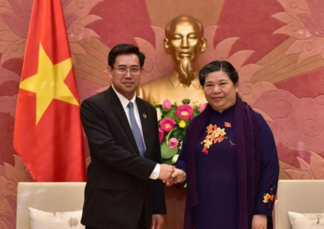 Quan hệ Việt-Lào là tài sản vô giá