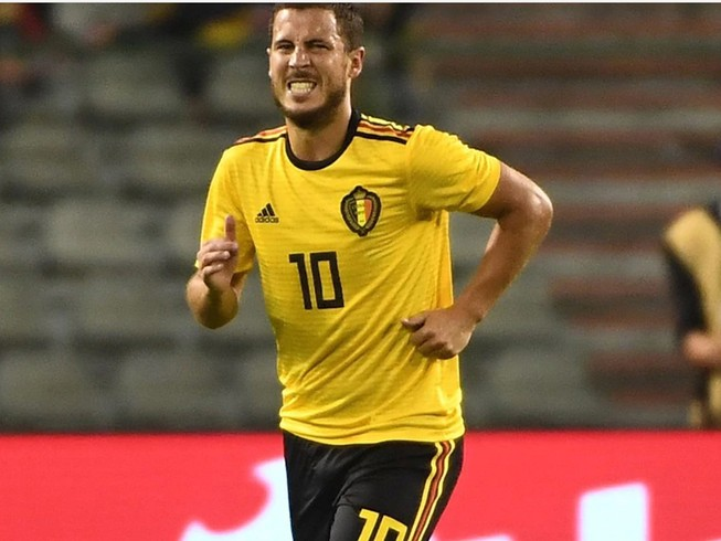 Bỉ chưa xuất quân đã nhận thêm chấn thương của Hazard