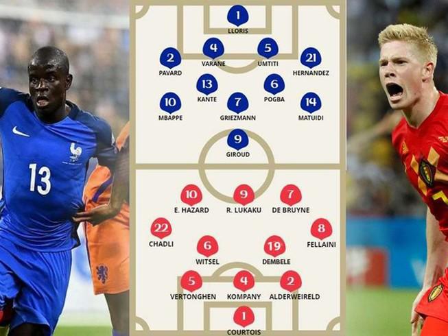 Bán kết World Cup, Pháp-Bỉ: 'Quỷ đỏ' hiện nguyên hình