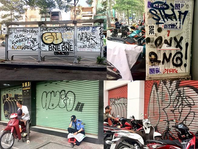 Dân thành phố tức mắt vì hình vẽ bậy
