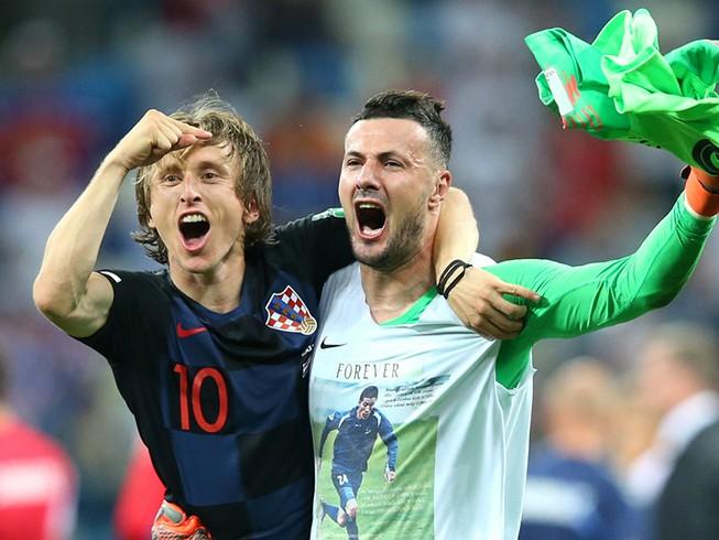 Quả bóng vàng thế giới rất gần Luka Modric