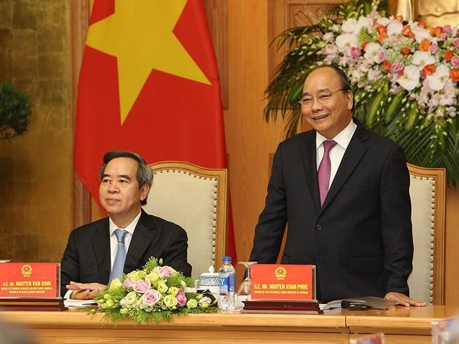 Thủ tướng gặp mặt chuyên gia, doanh nghiệp tại Diễn đàn 4.0