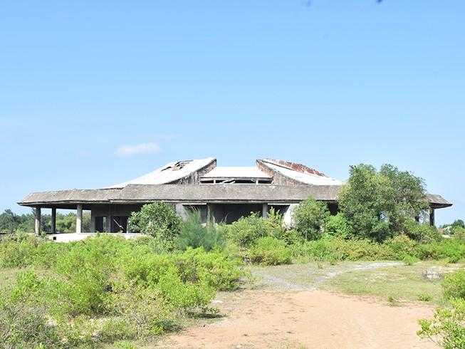 Bỏ hoang công trình nhà hỏa táng 12 tỉ đồng