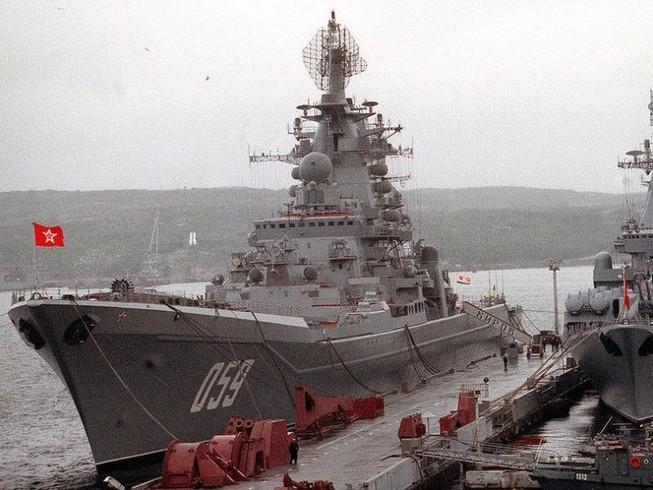 Nga hồi sinh quân cảng Syria cho tàu chiến hạt nhân