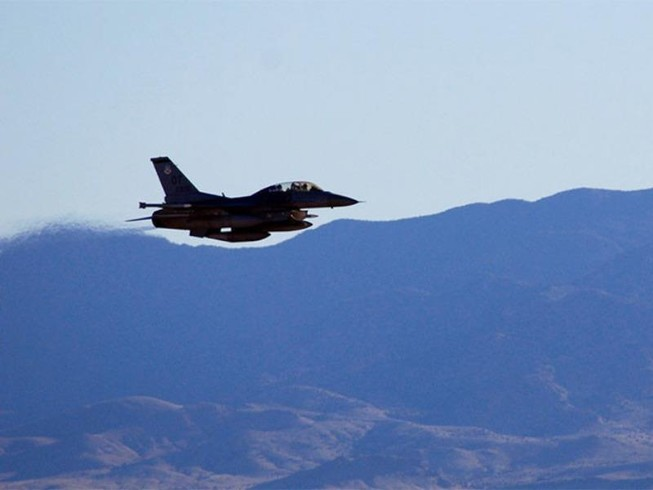 Mỹ cho máy bay luyện tập ném bom hạt nhân trọng lực