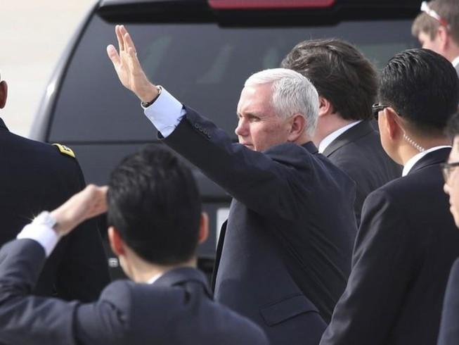Phó Tổng thống Mỹ chỉ trích Triều Tiên 'khiêu khích'