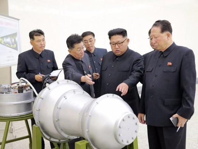 Triều Tiên tuyên bố đã có được siêu bom khinh khí