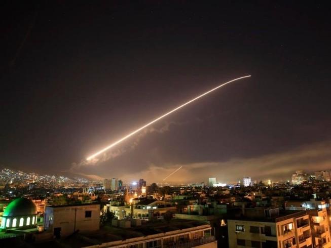 Anh-Pháp-Mỹ đã phóng 110 tên lửa vào lãnh thổ Syria