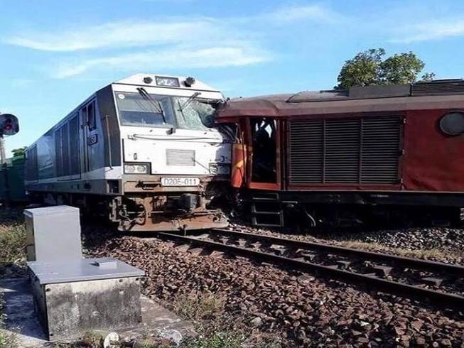 Lại xảy ra sự cố hai tàu vào cùng đường ray