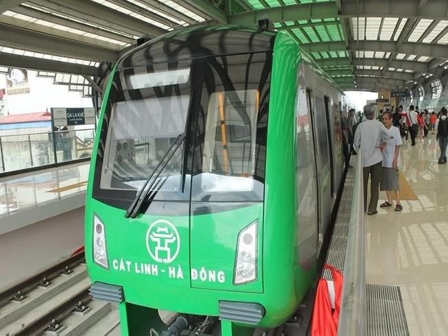 Tàu Cát Linh – Hà Đông chạy nhanh hơn xe buýt