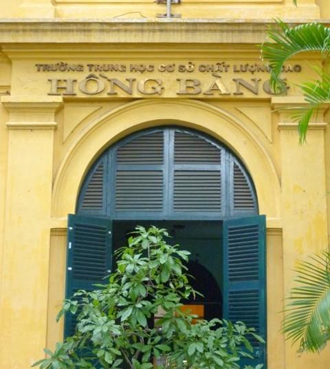 THCS Hồng Bàng – Di tích kiến trúc nghệ thuật của TP