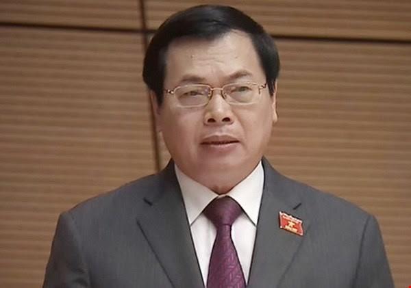 Kỷ luật ông Vũ Huy Hoàng và bà Hồ Thị Kim Thoa