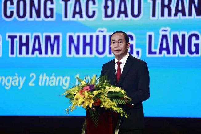 Chủ tịch nước: Phòng, chống tham nhũng hết sức khó khăn