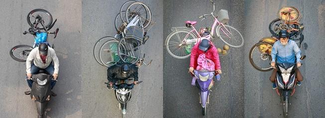 Bộ ảnh ngàn like siêu dễ thương về cuộc sống trên xe máy