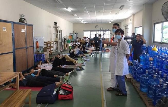 Đoàn công tác liên ngành tỉnh vào cuộc vụ 70 công nhân bị ngất
