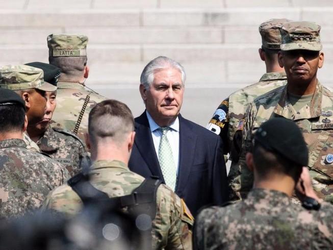 Mỹ tính đến giải pháp quân sự đối phó Triều Tiên