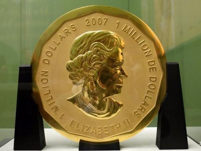 Bảo tàng Đức bị mất trộm 100 kg vàng