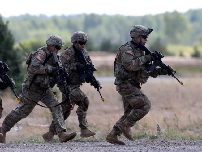 Mỹ điều binh đến Ukraine trước thềm tập trận Nga