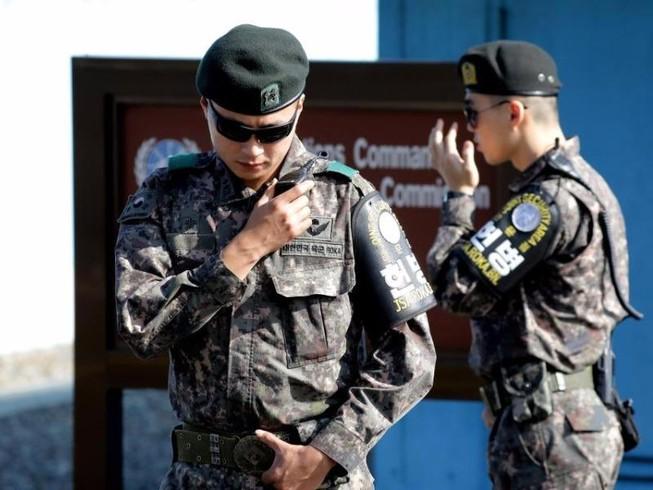 Binh sĩ Hàn Quốc bị bắn chết tại biên giới liên Triều