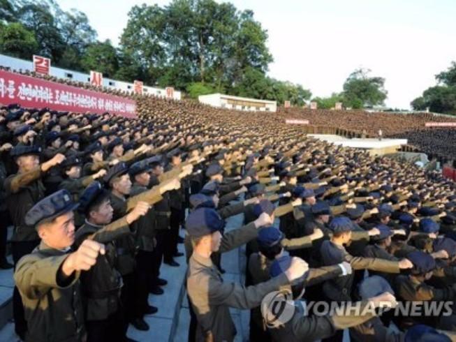 Gần 3,5 triệu người Triều Tiên xin nhập ngũ đánh Mỹ