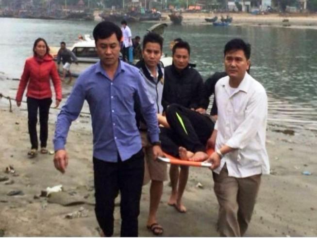 Đứt dây tời lưới trên biển, 4 ngư dân gặp nạn