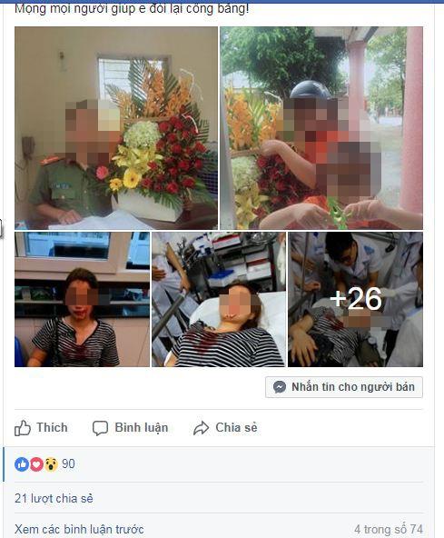 Công an Nghệ An giao PC45 xác minh vụ nữ sinh 'cầu cứu'