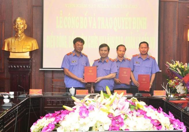 Viện trưởng VKS Bình Phước làm Vụ trưởng án an ninh