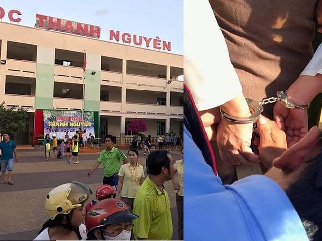Công an Bình Thuận nói về vụ dùng súng và còng tay
