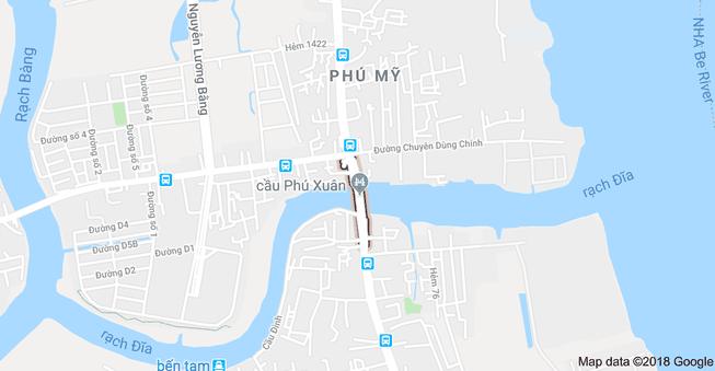 Hạn chế lưu thông trên sông Phú Xuân