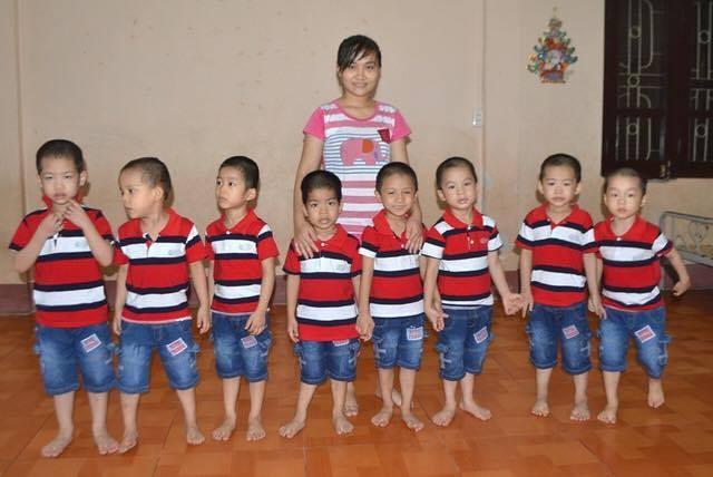 Tám bé trai nạn nhân vụ mua bán người đã có gia đình