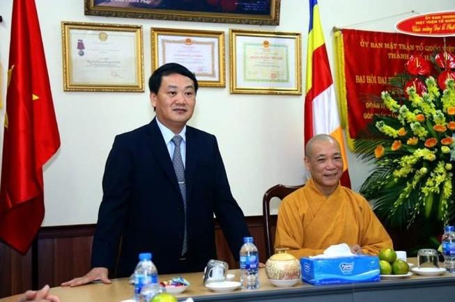 UBTƯ MTTQ Việt Nam chúc mừng đại lễ Phật đản