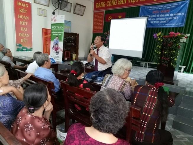 Tư vấn sức khỏe cho người cao tuổi