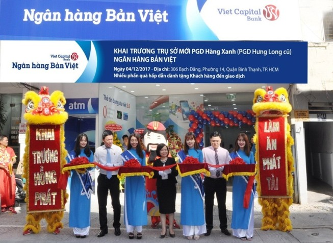 NH Bản Việt khai trương phòng giao dịch Hưng Long