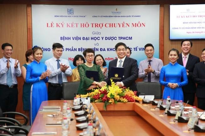 Bệnh viện ĐH Y Dược TP.HCM hợp tác với Vinmec Nha Trang