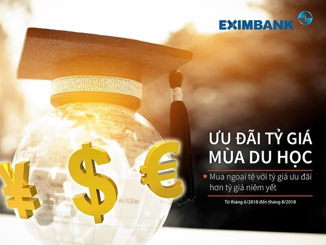 Eximbank triển khai chương trình ưu đãi tỉ giá mùa du học